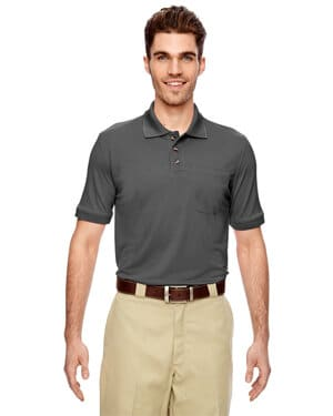 LS404 Dickies men's 6 oz industrial performance polo