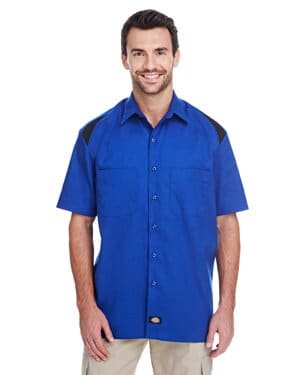 LS605 Dickies men's 46 oz performance team shirt