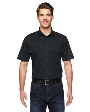 LS953 Dickies men's 45 oz ripstop ventilated tactical shirt