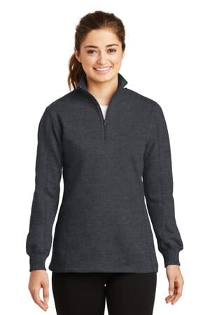 LST253 sport-tek ladies 1/4-zip sweatshirt lst253