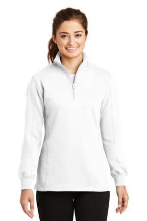 LST253 sport-tek ladies 1/4-zip sweatshirt