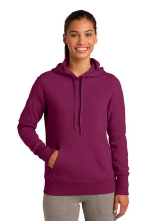 sport-tek ladies pullover hooded sweatshirt lst254