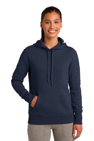 sport-tek ladies pullover hooded sweatshirt lst254