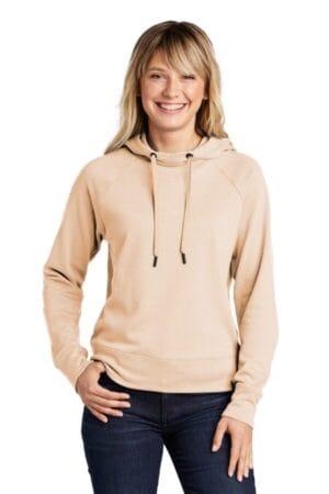 LST272 sport-tek ladies lightweight french terry pullover hoodie