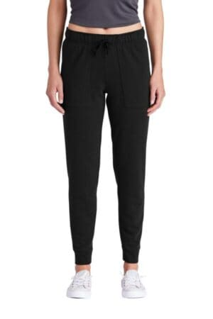 sport-tek ladies posicharge tri-blend wicking fleece jogger lst299