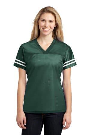 sport-tek ladies posicharge replica jersey lst307