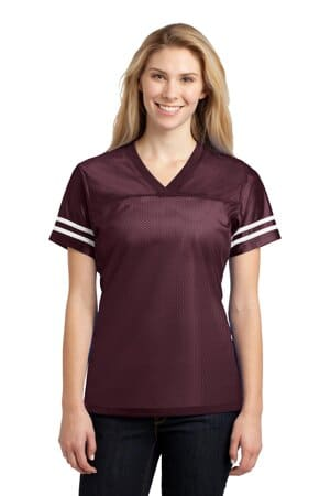 sport-tek ladies posicharge replica jersey lst307