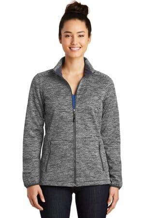 LST30 sport-tek ladies posicharge electric heather soft shell jacket