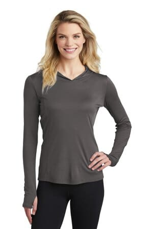 LST358 sport-tek ladies posicharge competitor hooded pullover
