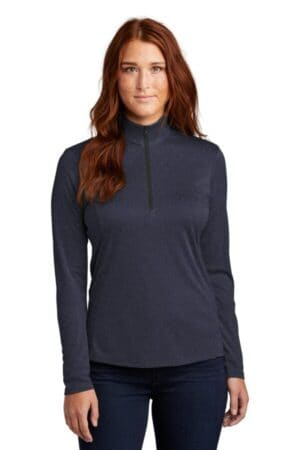 sport-tek ladies endeavor 1/4-zip pullover lst469