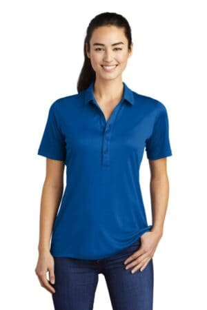 LST520 sport-tek ladies posi-uv pro polo lst520
