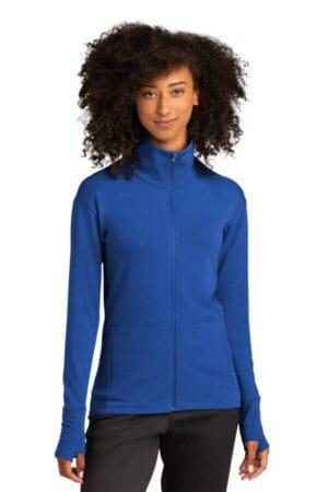 LST560 sport-tek ladies sport-wick flex fleece full-zip