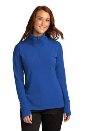 LST561 sport-tek ladies sport-wick flex fleece 1/4-zip