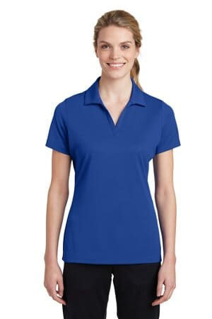 sport-tek ladies posicharge racermesh polo lst640