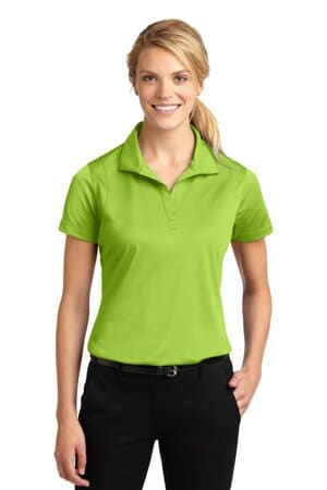 sport-tek ladies micropique sport-wick polo lst650