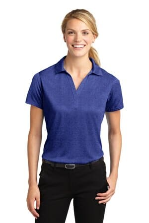 LST660 sport-tek ladies heather contender polo lst660