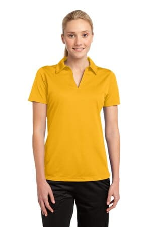 sport-tek ladies posicharge active textured polo lst690