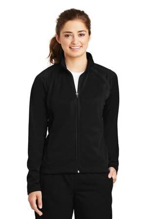LST90 sport-tek ladies tricot track jacket