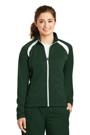 LST90 sport-tek ladies tricot track jacket lst90