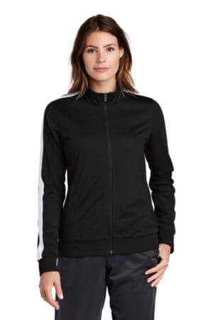 LST94 sport-tek ladies tricot track jacket lst94