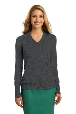 LSW285 port authority ladies v-neck sweater lsw285