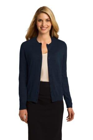 LSW287 port authority ladies cardigan sweater lsw287
