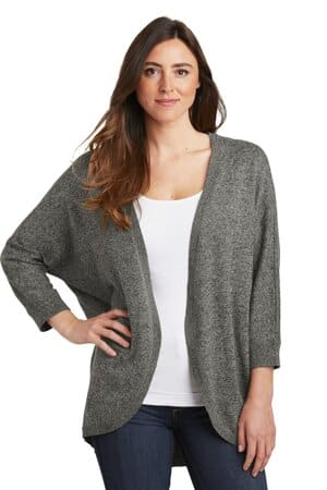 port authority ladies marled cocoon sweater lsw416