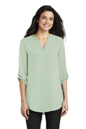 LW701 port authority ladies 3/4-sleeve tunic blouse