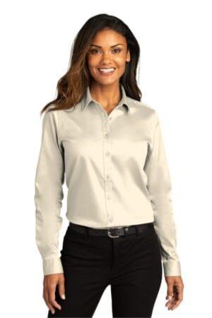 LW808 port authority ladies long sleeve superpro react twill shirt