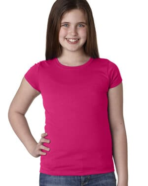 N3710 Next level youth girls princess t-shirt