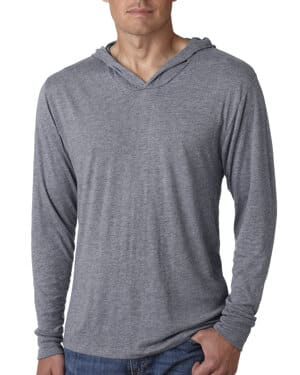 N6021 Next level adult triblend long-sleeve hoody