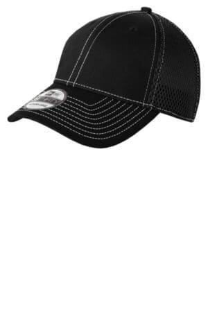 NE1120 new era-stretch mesh contrast stitch cap