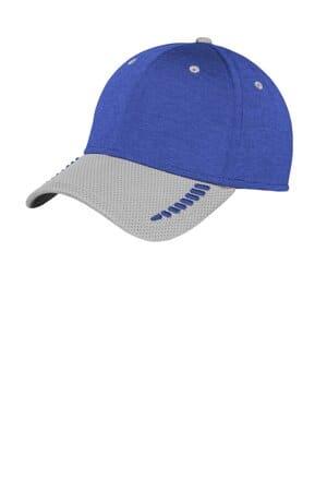 new era shadow stretch heather colorblock cap ne704