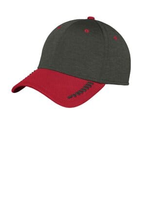 new era shadow stretch heather colorblock cap ne704