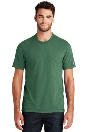 NEA120 new era sueded cotton blend crew tee nea120