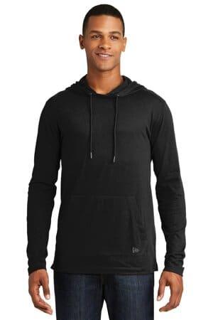 new era tri-blend performance pullover hoodie tee nea131