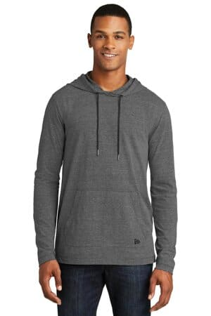 new era tri-blend performance pullover hoodie tee nea131