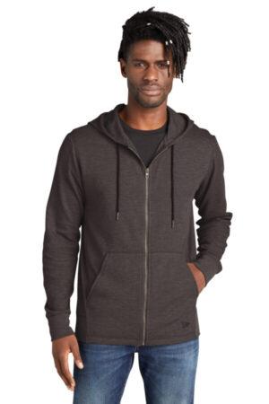 NEA141 new era thermal full-zip hoodie
