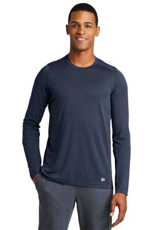 new era series performance long sleeve crew tee nea201