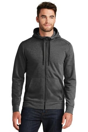 NEA511 new era tri-blend fleece full-zip hoodienea511
