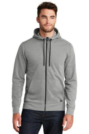 NEA511 new era tri-blend fleece full-zip hoodienea511
