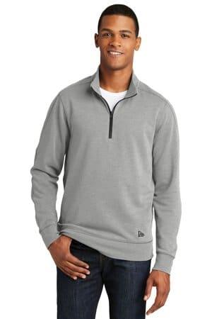 NEA512 new era tri-blend fleece 1/4-zip pullover nea512