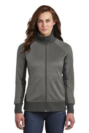 the north face ladies tech full-zip fleece jacket nf0a3sev