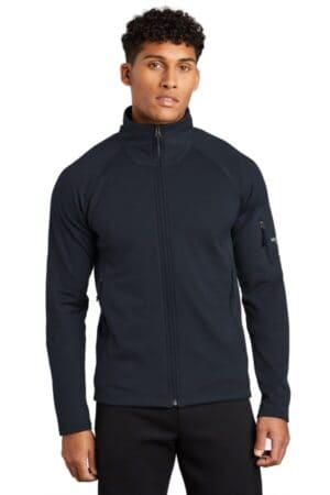 the north face mountain peaks full-zip fleece jacket nf0a47fd