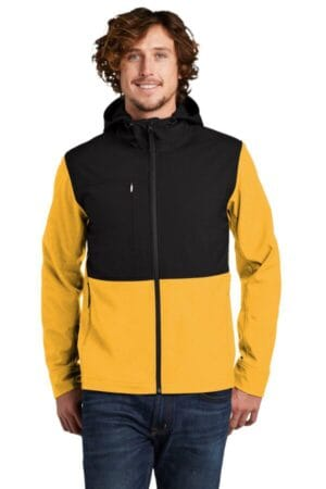 NF0A529R the north face castle rock hooded soft shell jacket
