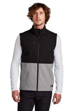 NF0A5542 the north face castle rock soft shell vest