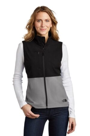 NF0A5543 the north face ladies castle rock soft shell vest