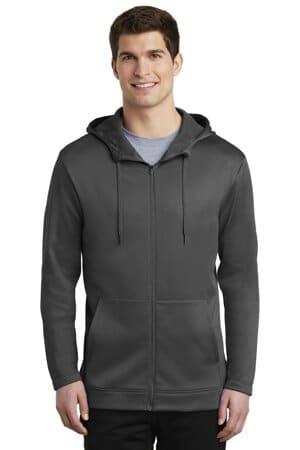 NKAH6259 nike therma-fit full-zip fleece hoodie