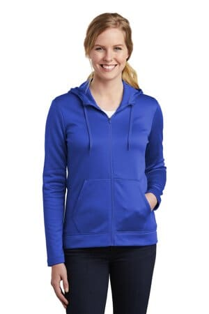 nike ladies therma-fit full-zip fleece hoodie nkah6264