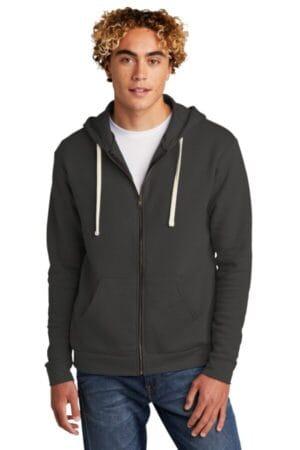 NL9602 next level unisex beach fleece full-zip hoodie